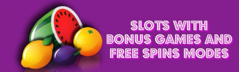 slots with bonus games and free spins mode